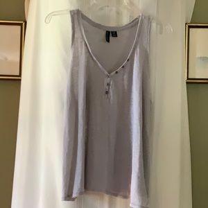 Cynthia Rowley sleeveless tank size med 100% Linen